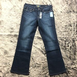 Lucky brand bell bottom jeans